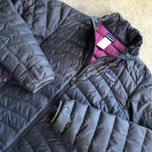 Patagonia Down Jacket Medium Black Flaw